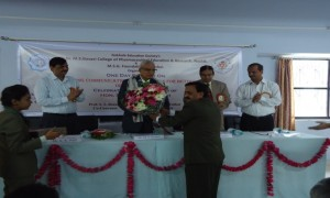 Felicitation of Sir. Dr. M.S. Gosavi Sir on  78th Birthday