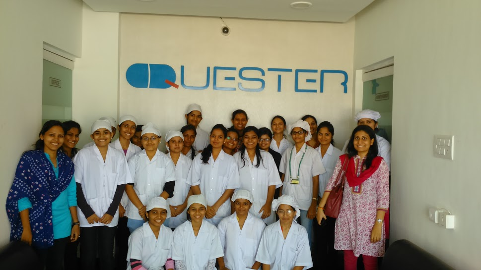 6 One Day Industrial Visit of  students at QUESTER