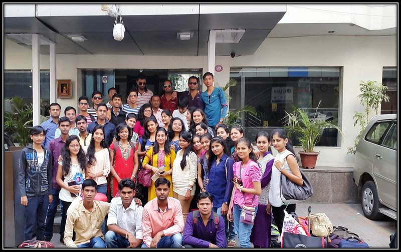 14 Trip of Final Year to Hydrabad