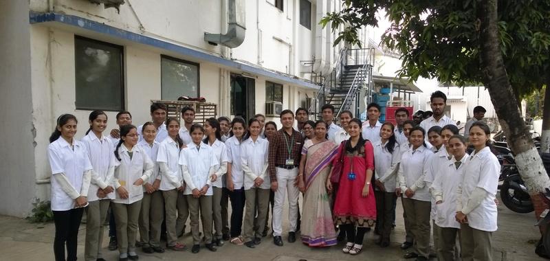 17 Industrial Visit MAXHEAL Pharmaceuticals