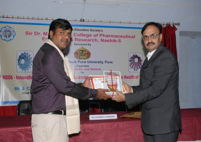 30 SEMINAR ON NDDS INNOVATION IN PHARMACEUTICAL SCIENCES 1 (3)