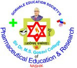 Sir Dr. M.S. Gosavi College of Pharmaceutical Education and Research Logo